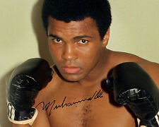 REPRINT - MUHAMMAD ALI #S8 Olympics Boxer Champion autographed signed photo copy