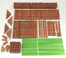 Vintage Lincoln Logs Lot 170 Pieces - Free Shipping