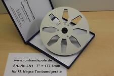 "Tonbandspule 7""  177,6 mm, 1 Paar,  für kl. Nagra, Grundig, Saba, -NEU- Nr. LN1"