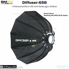 "SMDV Speedbox Diffuser-S65B 26"" ""Round"" Softbox with Bowens S-Type Mount DA-02"