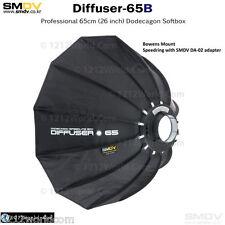 "SMDV Diffuser Speedbox-S65B 26"" ""Round"" Softbox with Bowens S-Type Mount DA-02"