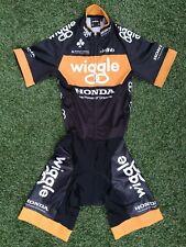 BNWOT Ladies Wiggle Cycling Team Issue Track TT Road Bike SS Speed Skinsuit UK10