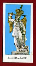 SANTINO S.MICHELE ARCANGELO  IMAGE PIEUSE - HOLY CARD-  Heiligenbild