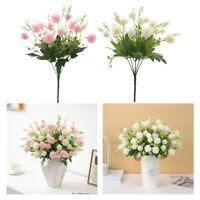 Bouquet de Fleurs Artificielles Pissenlit pour Décoration de Maison, Mariage,