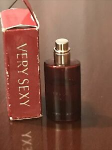 Victorias Secret VERY SEXY for HER eau de parfum spray .5oz @70% full Purse Size