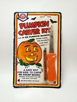Vintage Pumpkin Carving Set 1986 Sealed