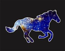 Cosmic Horse Contour Laptop Macbook Vinyl Car Window Bumper Decal Sticker