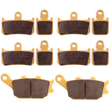 Front Rear Brake Pads for Yamaha YZF R1 YZF-R1 2007-2012 2008 2009 2010 2011 NEW