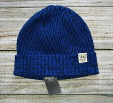 f03d50e6680b MENS ABERCROMBIE & FITCH ROYAL BLUE BEANIE HAT ONE SIZE