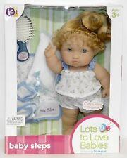 "New Berenguer Lots To Love Baby Steps Cutie Cute Chloe Sleepover 2009 10"" Doll"