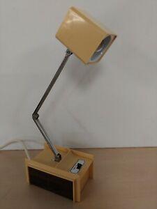 Vintage Hamilton Industries H-1 Adjustable Desk Lamp Mid Century  B27