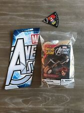 Lowes Build and Grow 2015 Avengers Black Widow SKYCYCLE KIT & PATCH SET