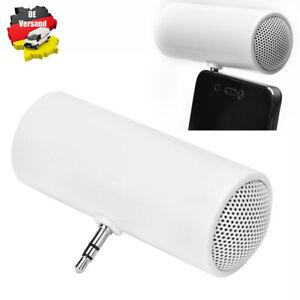 Mini Lautsprecher Stereo MP3 Handy Tablet Audio Speaker mit 3,5mm Klinkenstecker