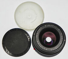 "Leica 28mm f2.8 Elmarit-R 3 cam  ""Prototype""  #0001487 .......... Very Rare !!!"