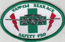 VAW-124 BEAR ACE SAFTY PRO OVAL SHOULDER PATCH