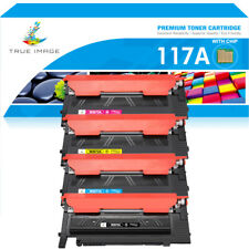 More details for lot toner compatible 117a for hp color laser 150a 150nw 178nw 179fnw latest chip