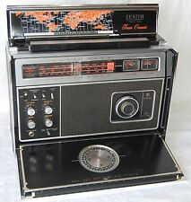 Zenith Trans Oceanic Radio Model R7000 2WMR70 12 band Vintage Transoceanic NICE!