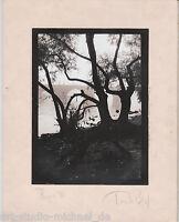 2 Original-Vintage-Fotos des tschechischen Fotografen Tomás Bican