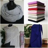 Super Soft Cashmere Pashmina Shawl Scarf Wrap Handmade Ideal Gift