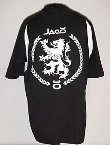 MMA UFC JACO BLACKZILIANS BLACK LION CREW SHIRT!    M