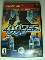 James Bond 007 in Agent Under Fire (Sony PlayStation 2, 2002) -Tested Working