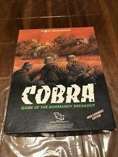 Cobra Game Of The Normandy Breakout 1984 Expanded Edition TSR Board Games