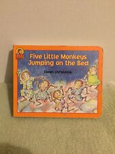 Five Little Monkeys Jumping on the Bed By Eileen Christelow BB