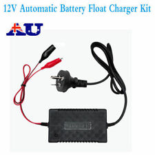 12V Automatic Battery Float Charger Kit for Motorcycle Car Boat With AU Plug