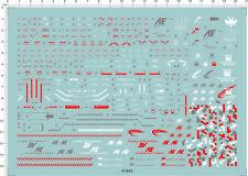Detail Up MG 1/100 Ver. Ka MSN-06S SINANJU STEIN Gundam Model Water Slide Decal
