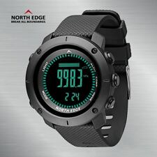 North Edge Mens Military Army Sports Watch Waterproof Barometer Compass Swimming