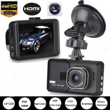 HD 1080p 3'' in Vehicle Car Dash Camera Video Recorder Cam DVR HDMI G-sensor