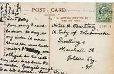 Family History Postcard - Barting - Golden Square - London - Ref 2404A