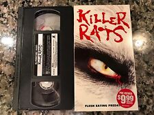 Killer Rats VHS! 2003 Vicious Horror! Deadly Eyes Willard The Food Of The Gods