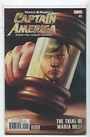 Captain America #9 NM Steve Rogers  The Trail Of Maria Hill Marvel Comics **18