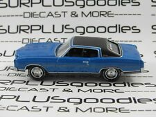 Johnny Lightning 1:64 Scale LOOSE Collectible Blue 1970 CHEVROLET MONTE CARLO