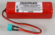 Multiplex Drive Battery 9.6V 800mAh Ni-Cd 155649 modellismo