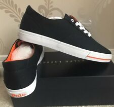 BNIB MENS POLO RALPH LAUREN CP-93 CANVAS LOW-TOP SHOES/TRAINERS/SNEAKERS SIZE 9