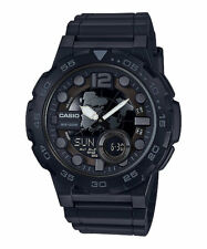 Casio Men's Databank 30 Watch, 100M, 3 Alarms, Chronograph, Resin, AEQ100W-1BV