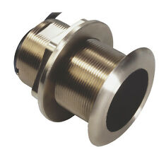 Lowrance B60-12 Degree Tilted Element Bronze Thru-Hull Transducer 50/200kHz 600W