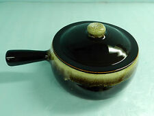 New listing Rare Vintage~Large 3 1/2 X 8 1/2 Oven To Table~Cassarole~French Onion Soup Crock