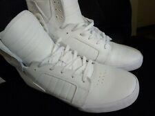 Supra 001 Muska - White/White Leather - Size 13