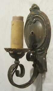 Vintage ART DECO or ARTS & CRAFTS Electric Wall Sconce Light Fixture - MLP, 1926