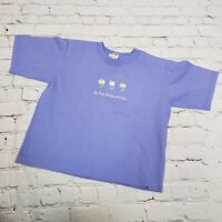 Anvil Alabama Youth Girls Graphic Pre-shrunk Cotton Tee T-Shirt Purple Size L