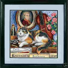 Needlepoint Kit GERSHWIN Cat Kitten Dimensions  SPECIAL!!
