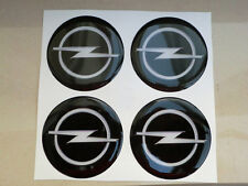 COPRIMOZZI CAP CAPS CENTER NERO 3D X 4 PZ 50 mm OPEL ASTRA CORSA OPC INSIGNIA