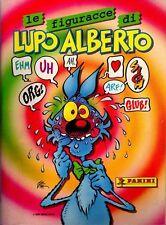 1 ALBUM STICKERS-LE FIGURACCE DI LUPO ALBERTO silver,fumetti,cattivik,cocco bill