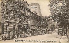 CARTE POSTALE PARIS 4e ARRT DUBONNET 7 RUE MORNAY VOITURE CALECHE