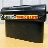 Sonic & Knuckles - Sega MegaDrive Game *Cartridge Only* Tested VGC