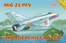 MIG 21 PFV / PF THUNDERCHIEF KILLER / Dual set / vietnamita & altri MKGS) 1/72 akkura