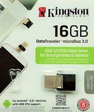 Kingston DataTraveler MicroDuo 16gb 16gb USB 3.0 Stick OTG 16gb DTDUO 3/16gb